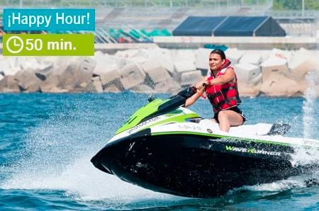 Moto de agua 50 minutos promoción