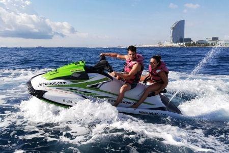 Oferta Moto de Agua Barcelona en Abril