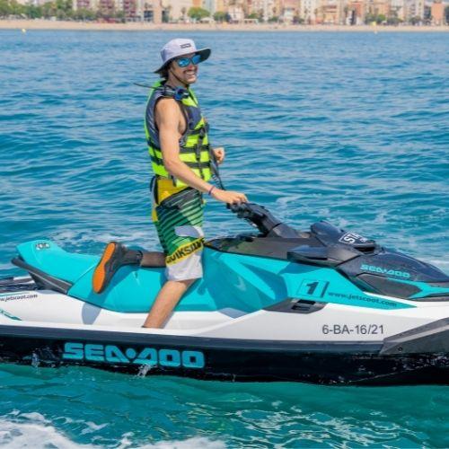 Jet Ski Guided Tours in Barcelona