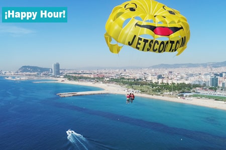 Parasailing Barcelona Happy Hour