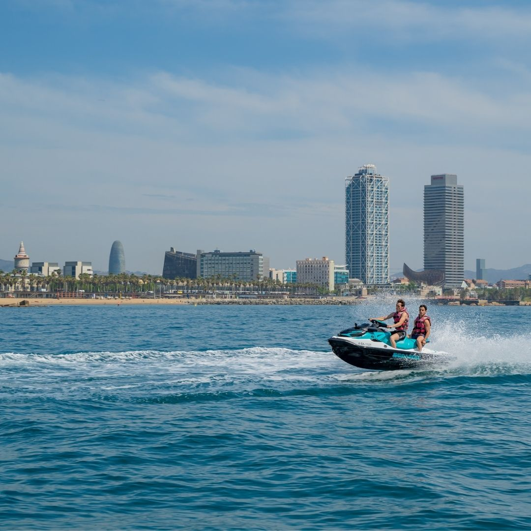 Jet Ski for two in Barcelona