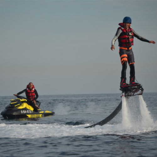 Do Flyboard in Barcelona