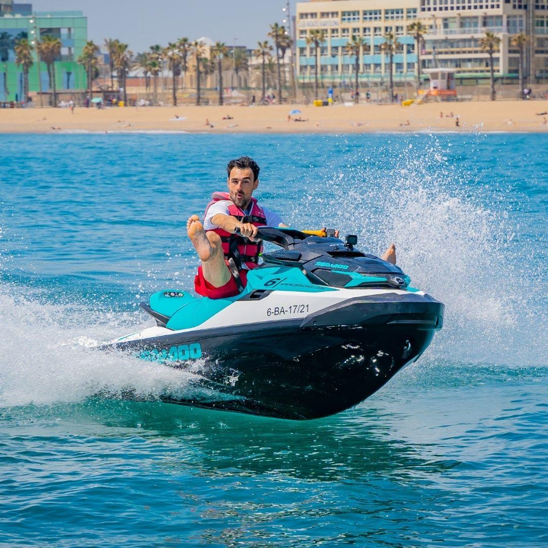 Motos de agua Yamaha 110CV Barcelona