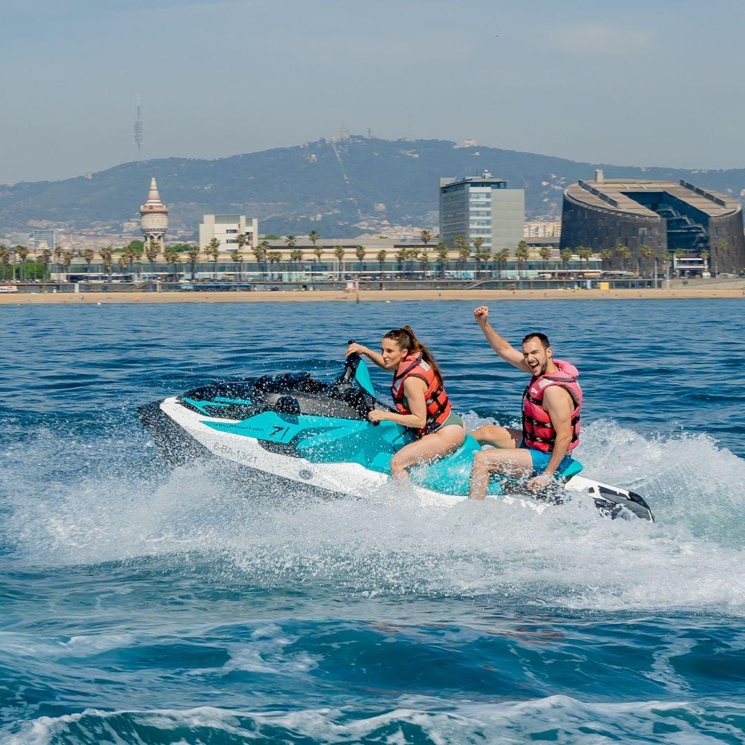 Jet Ski Winter Experience in Barcelona