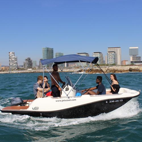 Boat hire Barcelona