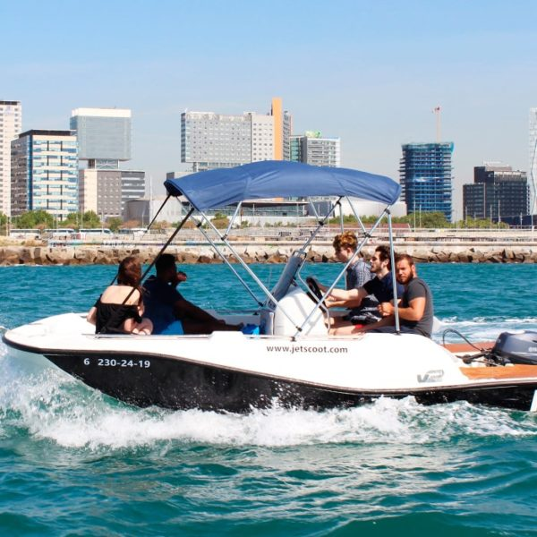 Alquiler barco sin carnet Barcelona