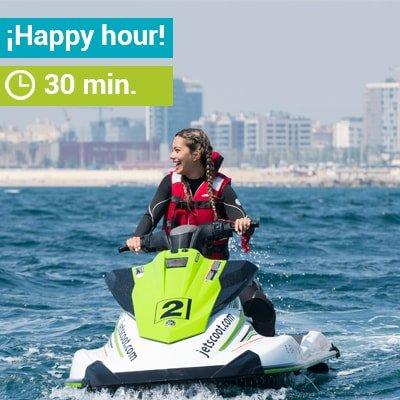 Promoción Happy Hour en alquiler de motos de agua