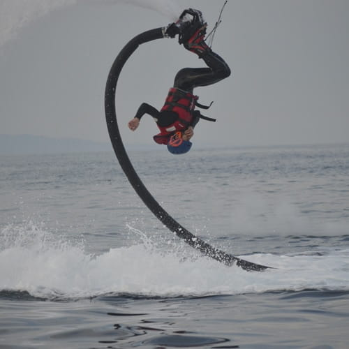 Doing tricks with Flyboard