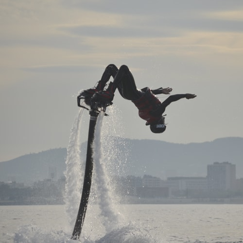 Incredible experience with Flyboarding