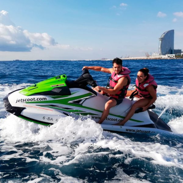 Jet Ski long tour in Barcelona