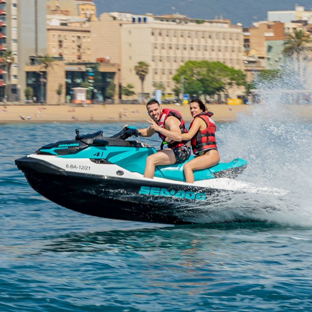 Jet Ski Sunset Experience in Barcelona