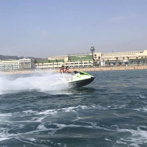 Experiencia Moto de Agua