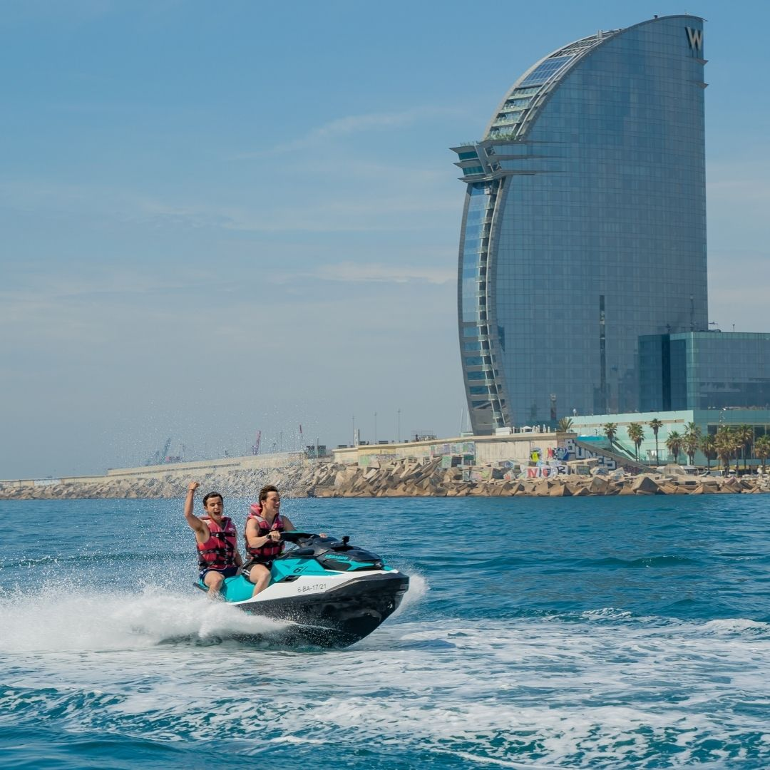 Barcelona coast tour with Jet ski