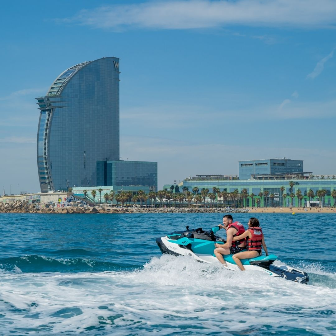 Enjoy Barcelona with Jet Ski
