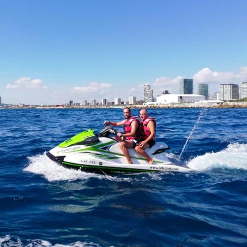 Moto de agua para 2 personas Barcelona