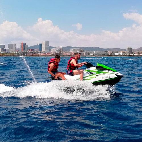 Experiencia en moto acuática para 2 personas Barcelona