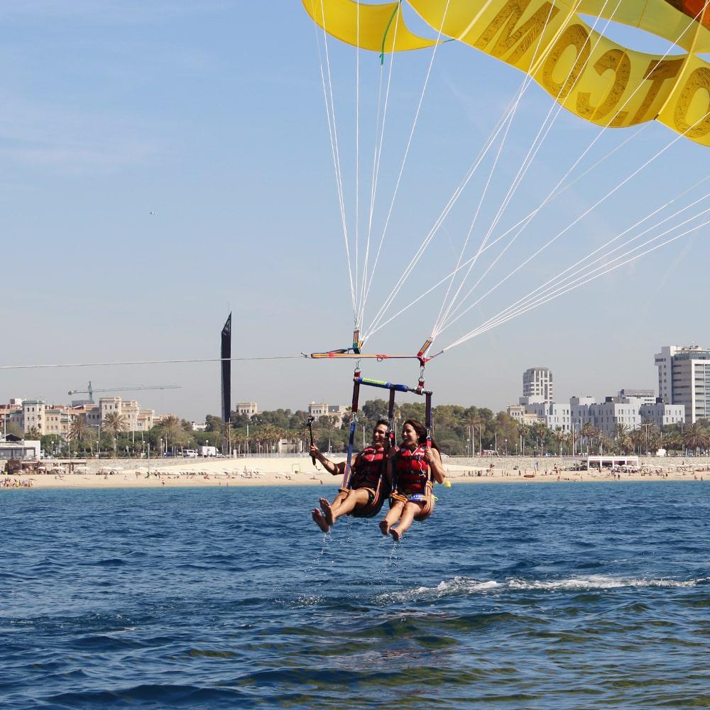 Parachute Ascensionnel à Barcelone 2 personnes