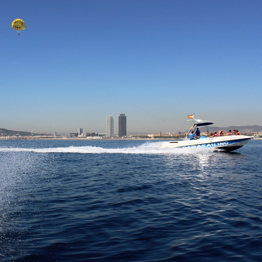 Parasailing Barcelona Tour 2 people