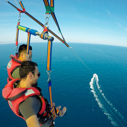 Parasailing Barcelona experience prices