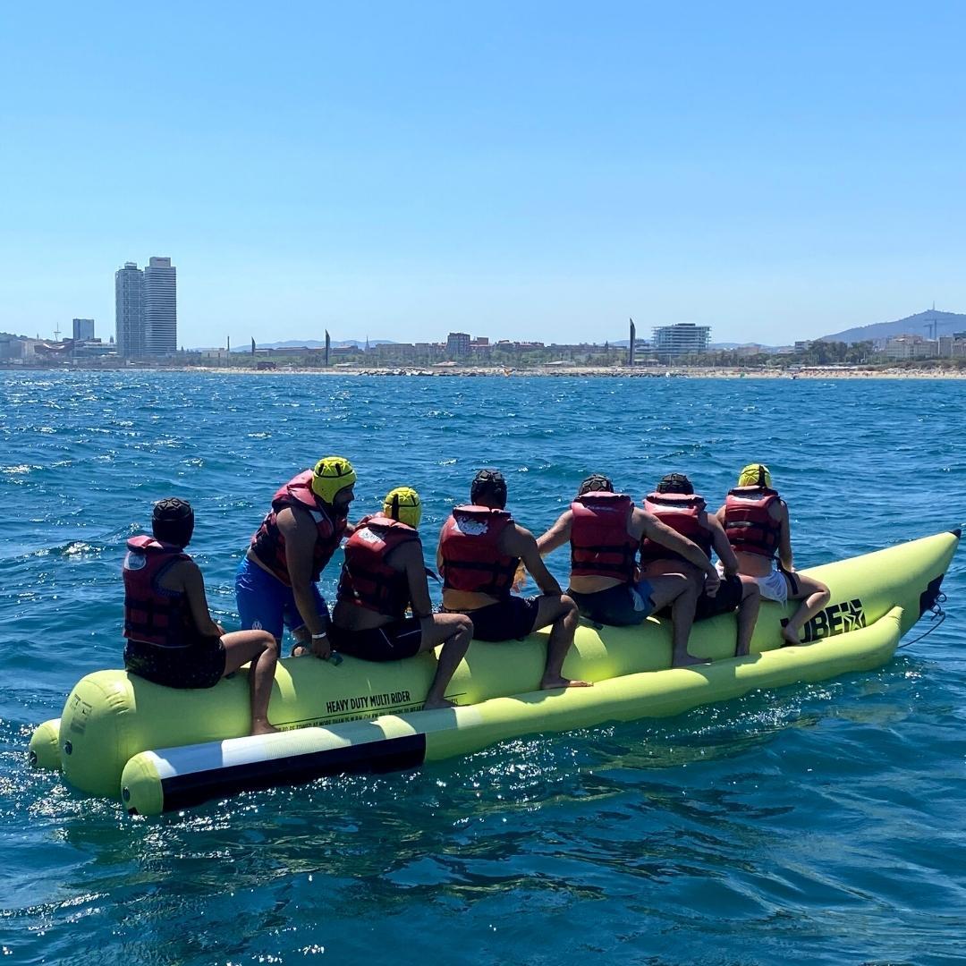 Aventura en Banana Boat