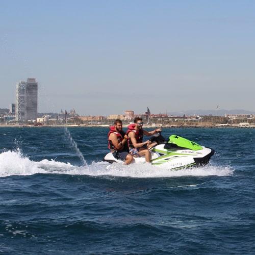Jet Ski 1h for 89€ in Barcelona