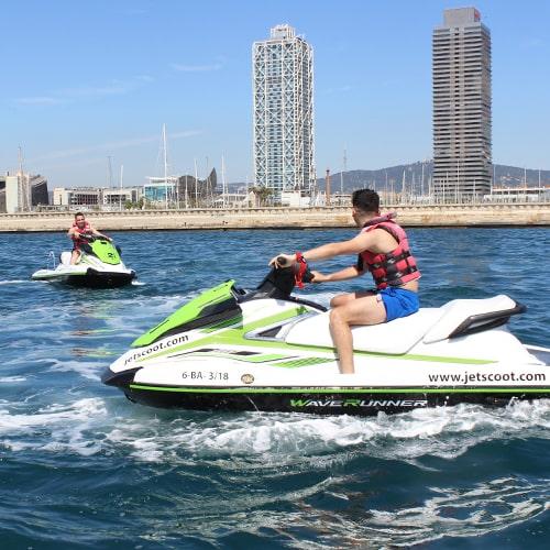 Jet Ski Barcelona Offer 1h