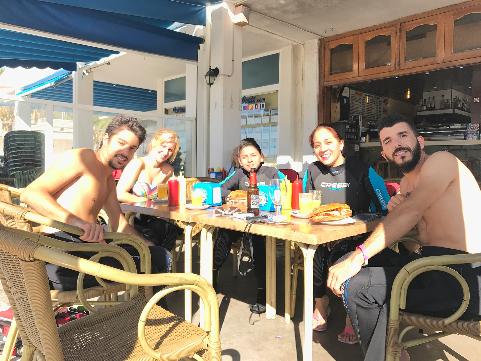 Jet Ski Sitges Breakfast