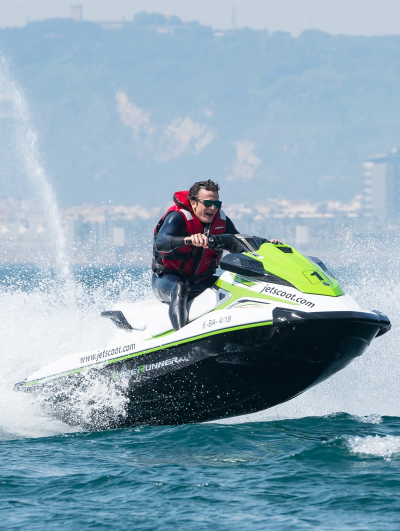 Moto de agua sin carnet Barcelona