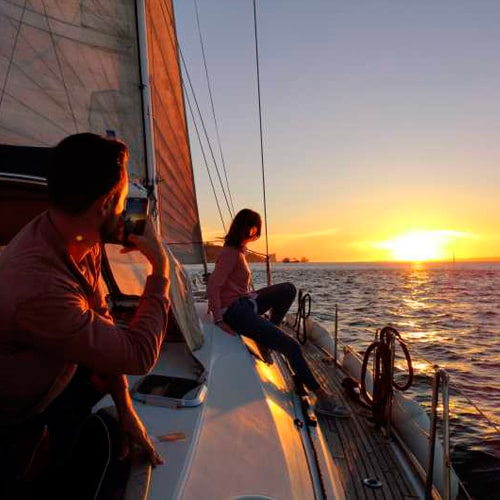 Romantic Sailing Sunset Experience Barcelona
