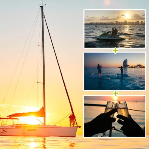 Sailing Sunset Experience Barcelona