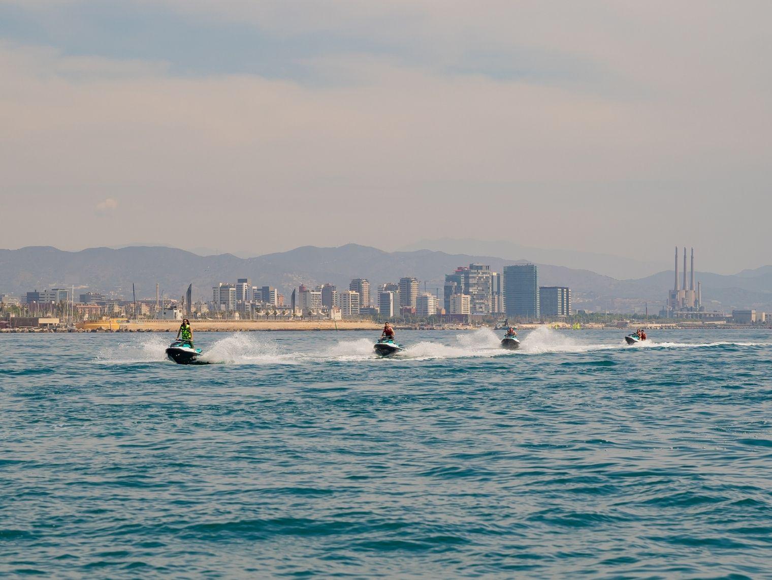 Moto de Agua Barcelona Navidad