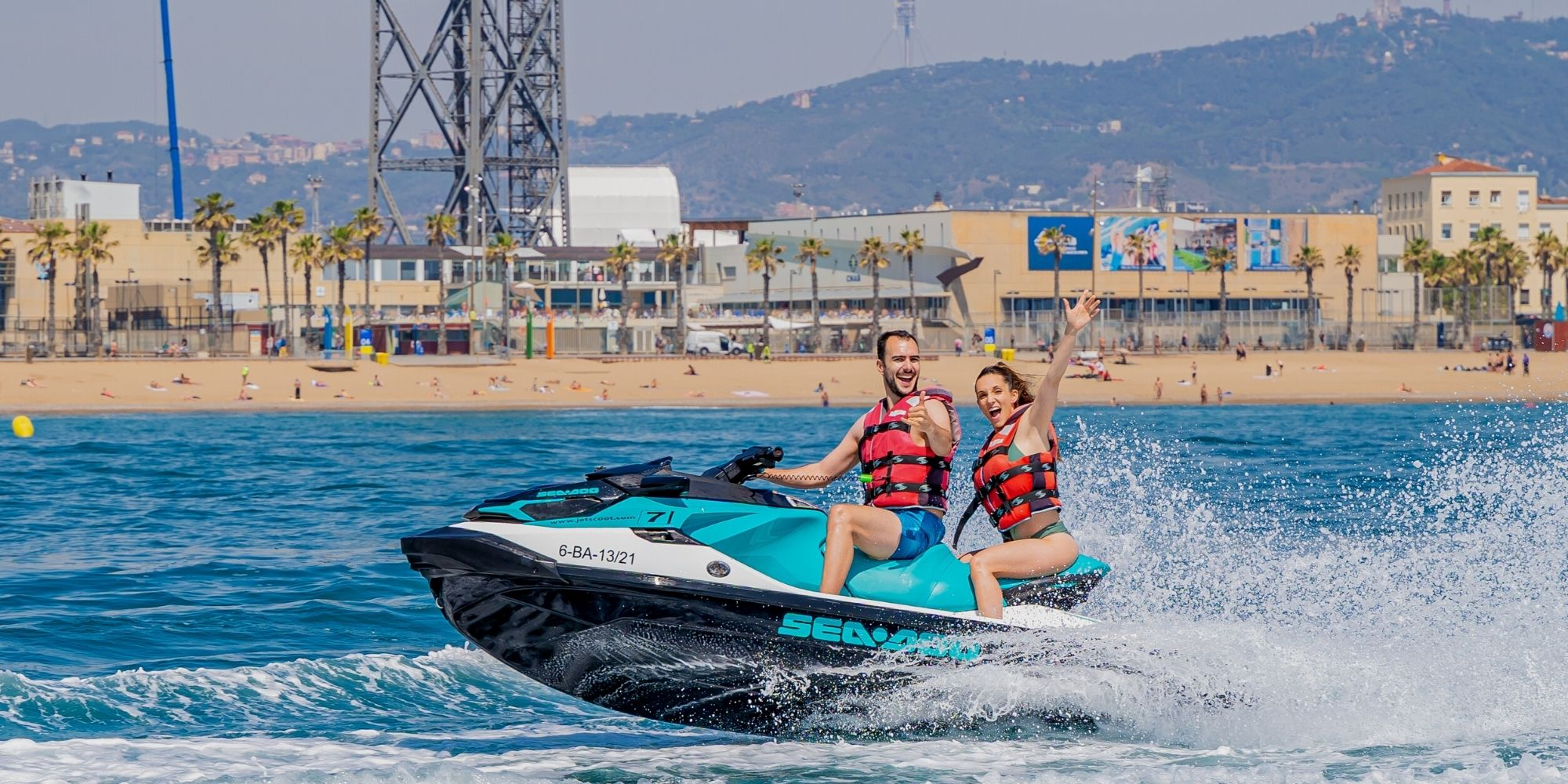 Jet Ski Tours in Barcelona