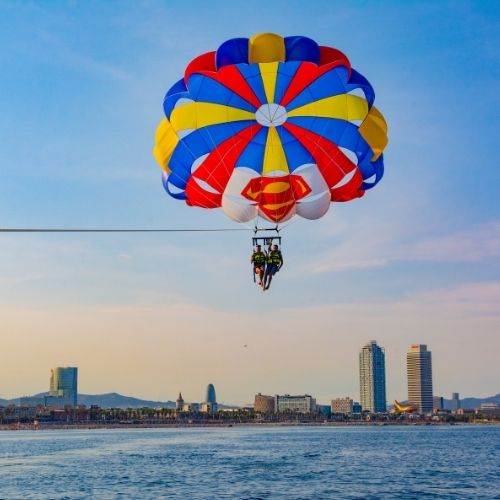 Parasailing Barcelona Afternoon