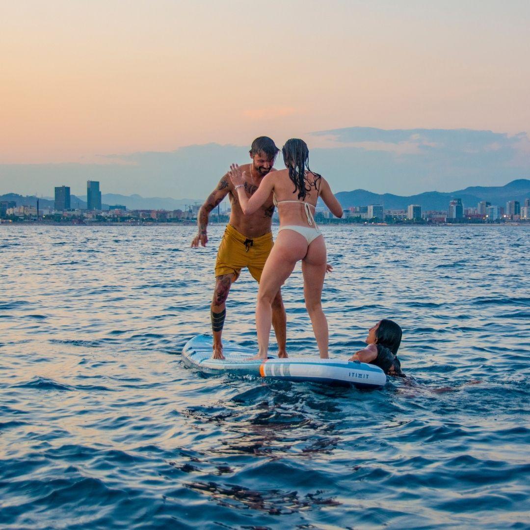 Paddle Surf + Velero en esta experiencia privada